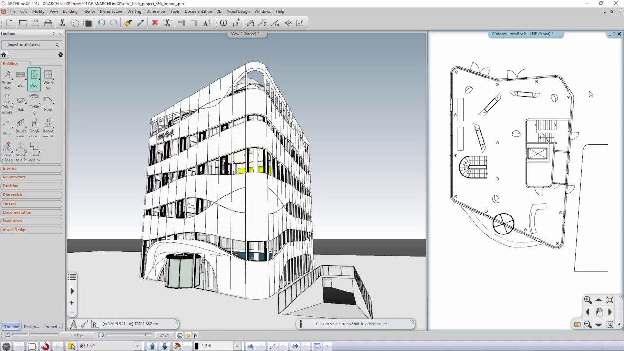 YouTube video: Working with Revit files