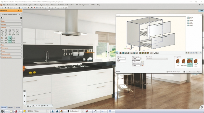 Every Kitchen Is Unique And Designing Requires A Lot Of Tools Using ARCHLineXP CAD BIM Interior Design Software The Entire