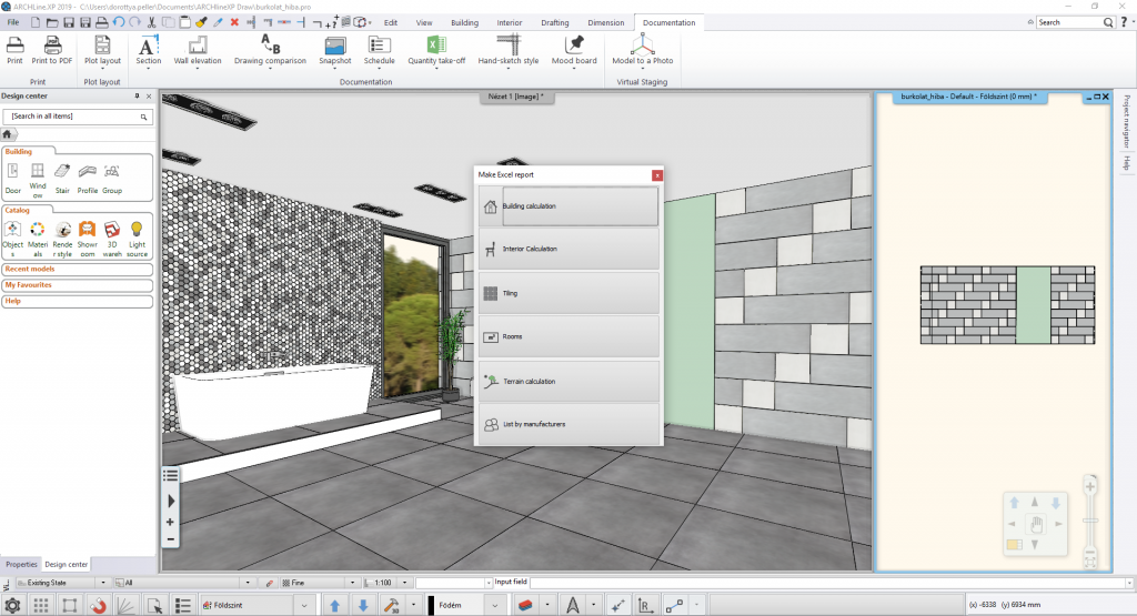 Everything you need to know about tiling in ARCHLine XP
