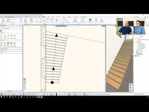 Stairs, ramp - Architecture level 1 (mozaik)