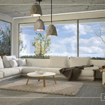 Flora Orosz - Livingroom with panorama
