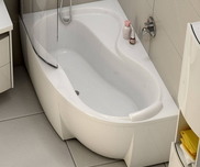 Rosa 95 left-hand bathtub