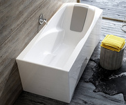 You 175x80 bathtub white with front panel