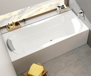 Campanula II 180x80 bathtub white