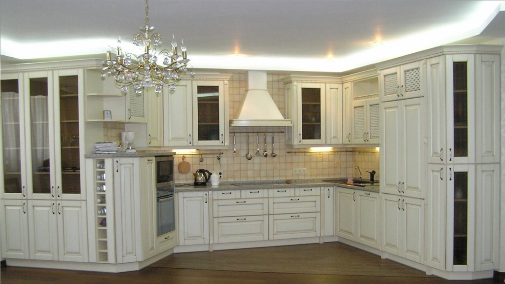 ARCHLine Project: Kitchen in classic style