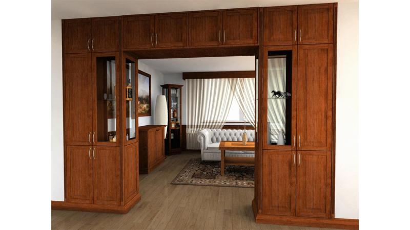 ARCHLine Project: Living room cabinets