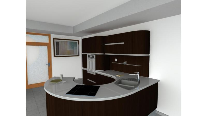 ARCHLine Project: Curved Kitchen