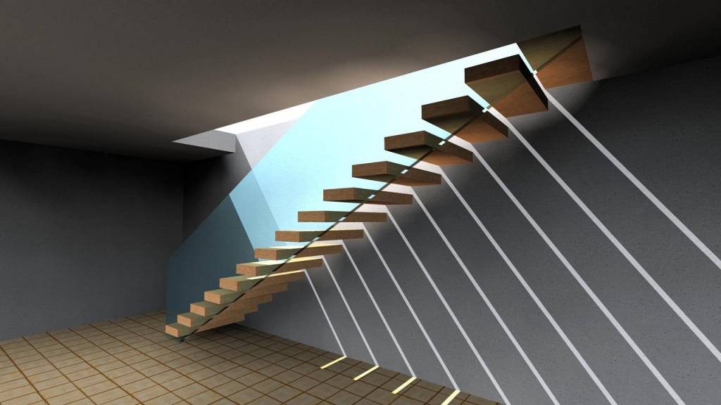 ARCHLine Project: Floating staircase
