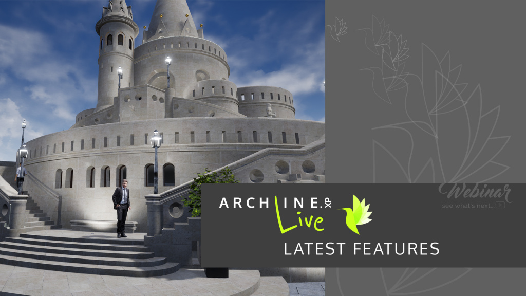 ARCHLine.XP Live - the latest features