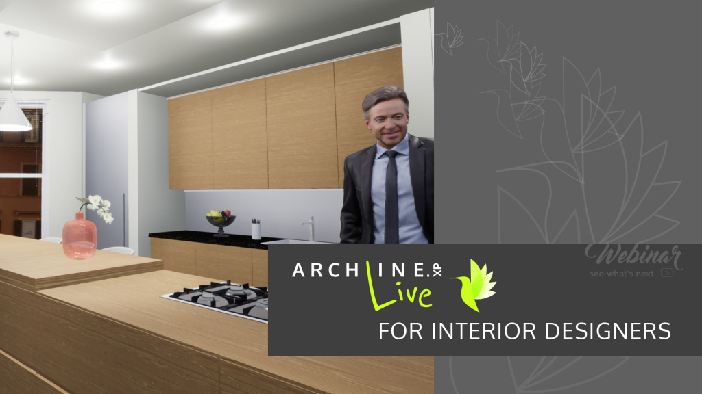 ARCHLine.XP Live for Interior Designers