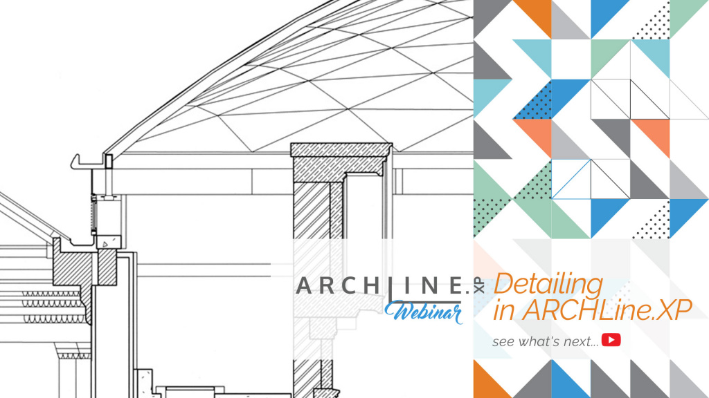 Detailing in ARCHLine.XP