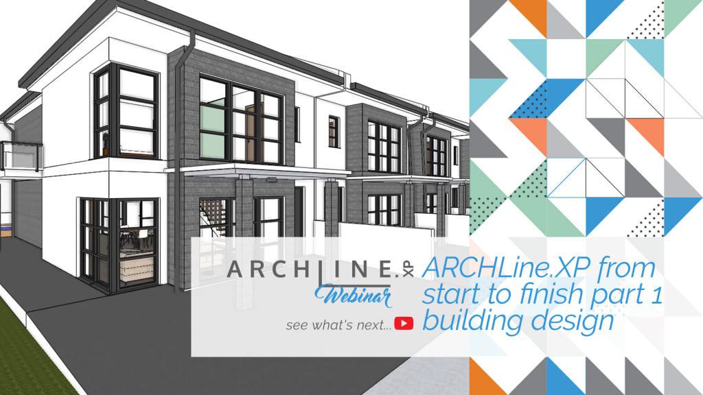 ARCHLine.XP From Start To Finish Part 1