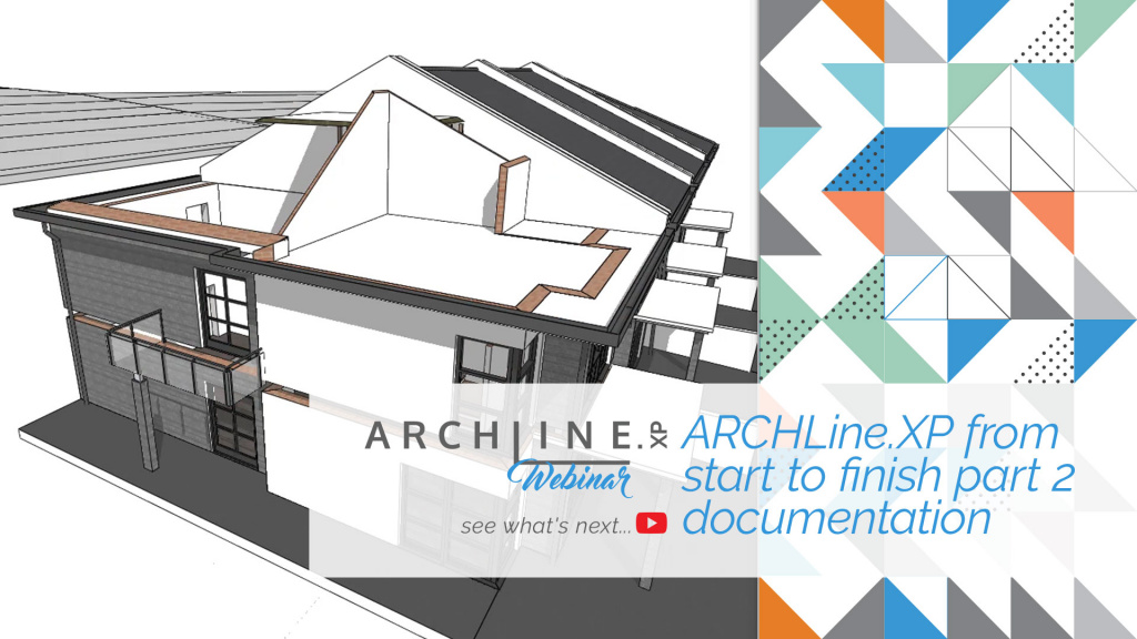 ARCHLine.XP From Start To Finish Part 2